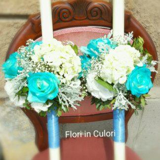 Lumanari De Botez Florarie Online Timisoara Livrare Flori Cutii
